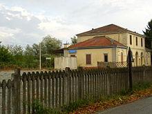 La stazione ferroviaria di Cassine