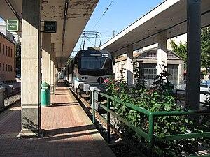 Rome–Civitacastellana–Viterbo railway - A Roma Nord train at Viterbo.