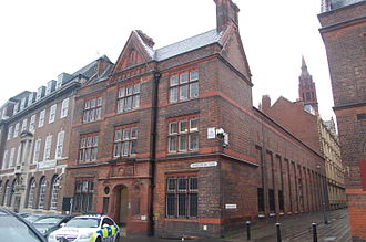 Steelhouse Lane police station - The Victorian cell block.