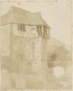 Amelia Elizabeth Guppy - Stekesley (sic) Castle; Attributed to Amelia Elizabeth Guppy