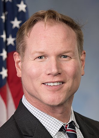 United States congressional delegations from Kansas - Image: Steve Watkins, official portrait, 116th congress (cropped)