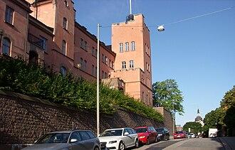 Ersta Sköndal Bräcke University College - The building on Stigbergsgatan 30.