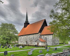 Stiklestad Church - Image: Stiklestad kirke