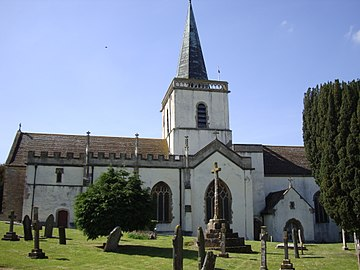 Stogursey Priory in Somerset; Alien Priory dissolved in 1414 and granted to Eton College StogurseyPriory.JPG