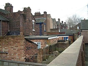 Stoke-on-trent terrace housing