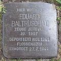 Stolperstein Eduard Baltruschat Sattelstraße 27 Ahlen.nnw.jpg