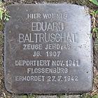 Stolperstein für Eduard Baltruschat