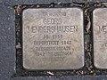 Stolperstein Georg Mendershausen, 1, Kölnische Straße 88, Vorderer Westen, Kassel.jpg