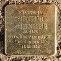 Stolperstein Helgoländer Ufer 6 (Moabi) Siegfried Katzenstein.jpg