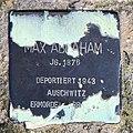 Stolperstein Holsteinische Str 12 (Wilmd) Max Abraham.jpg
