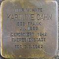 Stolperstein Karlsruhe Cahn Karoline geb Frank.jpeg