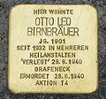 Stolperstein Otto Leo Birnbräuer Baden-Baden.jpg