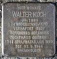 Stolperstein Solingen Schlossstr. 8 Walter Koch.jpg