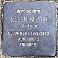 Stolperstein Straße zum Löwen 19 (Wanns) Ellen Meyer.jpg