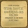 Stolperstein für Selma Saartje Kamerling-Bos (Den Haag).jpg
