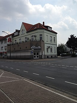 Bahnhofstraße in Bönen