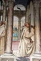 Storie di s. benedetto, 18 sodoma - Come Florenzo tenta di avvelenare Benedetto 02.JPG