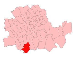 Streatham (UK Parliament constituency) - Streatham in London 1918-49