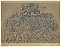 Study for the Decoration of an Apse- Saints and Angels in Glory with God the Father Above MET DP820260.jpg