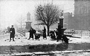 Sturt street snow scene 1905