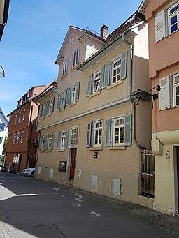 Stuttgart, Brählesgasse 3, Wohnhaus