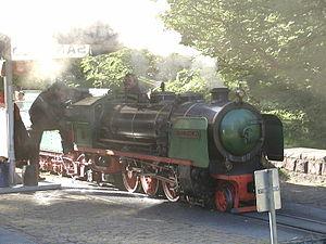 Killesbergpark - Killesberg railway