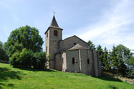 The church in Saint-Voy