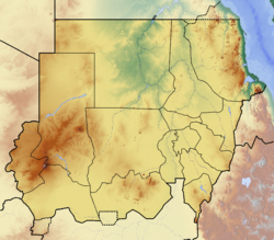 Location map Sudan is located in Sudan