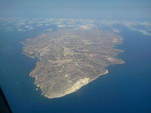 Geography of Malta - Image: Sudika Ghawdex