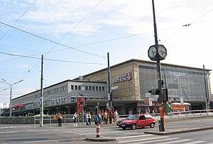Wien Südbahnhof - Vienna Südbahnhof seen from the Wiedner Gürtel