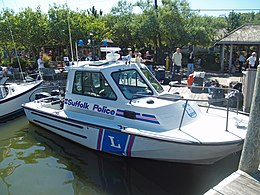 Suffolk County New York Police Boat on Fire Island.jpg