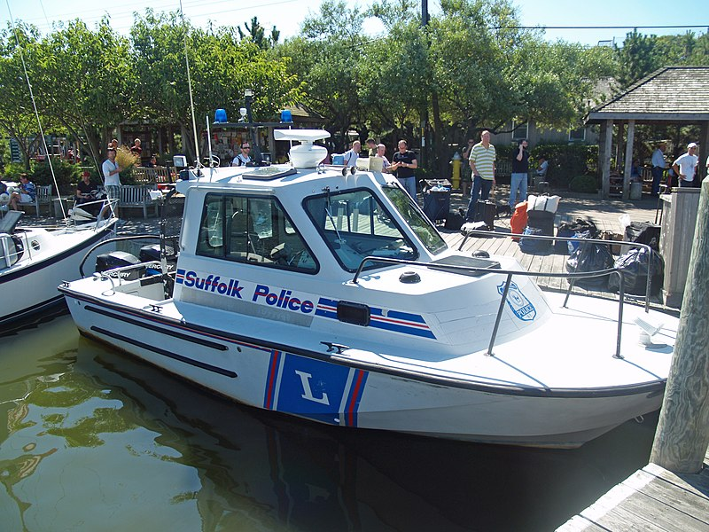 File:Suffolk County New York Police Boat on Fire Island.jpg