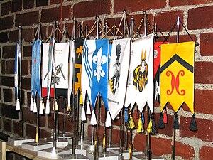 Finnish heraldry - Table-top pennants of Finnish family associations