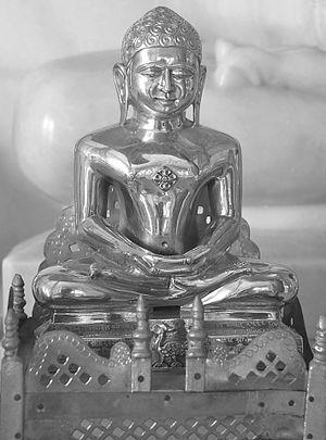 Sumatinatha - Image of Sumatinatha at a Jain temple