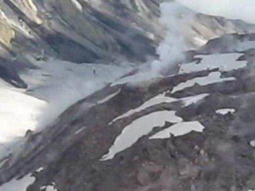 File:Summit rim of Mount St. Helens.ogv