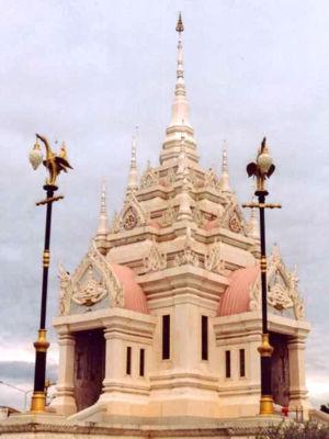 Surat Thani Province - City pillar shrine, Surat Thani