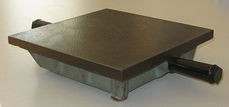 Surface plate - A 250 mm x 250 mm surface plate