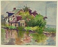 Susan Brown Chase - C&O Canal, Georgetown DC.jpg