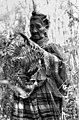 Susie Jim Billie collecting medicinal plants and herbs- Big Cypress Seminole Indian Reservation, Florida.jpg