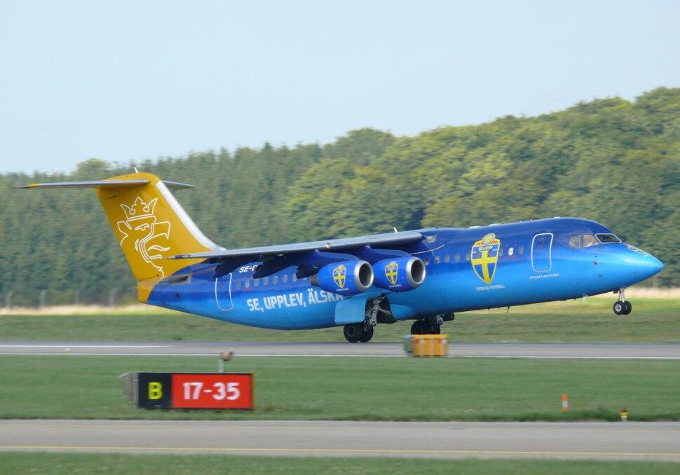 Svenska fotbollförbundet Malmö aviation