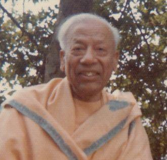 Swami Prabhavananda - Image: Swami P 1975