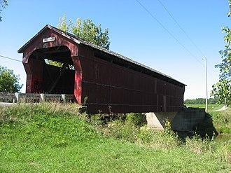 Antrim Township, Wyandot County, Ohio - Swartz Covered Bridge