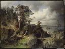 Swedish Landscape. Motif from Kolmården (Alfred Wahlberg) - Nationalmuseum - 18029.tif