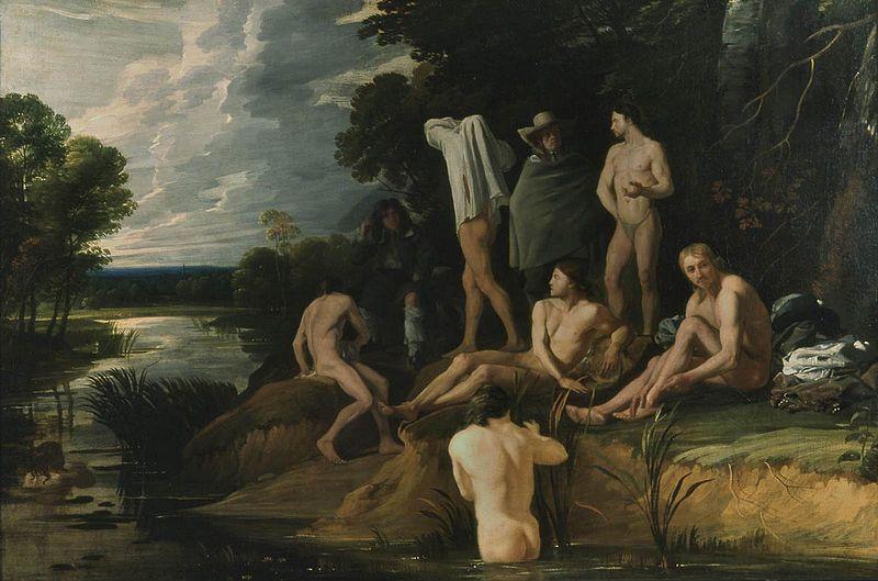 Файл: Sweerts, Hommes se baignant.jpg