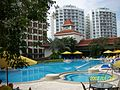 Swimming pool, Traders Hotel Singapore - 20070123-04.jpg