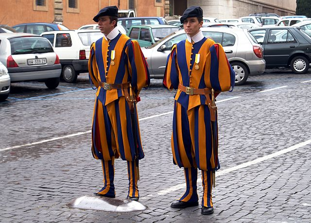 Image result for swiss guards