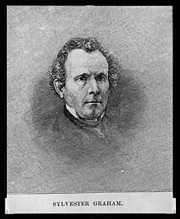 Sylvester Graham American Presbyterian minister and dietary reformer