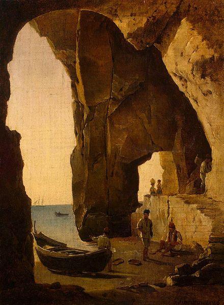 File:Sylvester Shchedrin - Cave in Sorrento - WGA21180.jpg