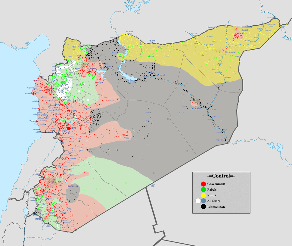 Syrian civil war 01 04 2016