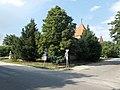 Szabadság tér, Árpád utca felől nézve, 2019 Délegyháza.jpg